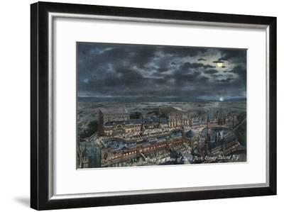 Bird's Eye View of Luna Park--Framed Giclee Print