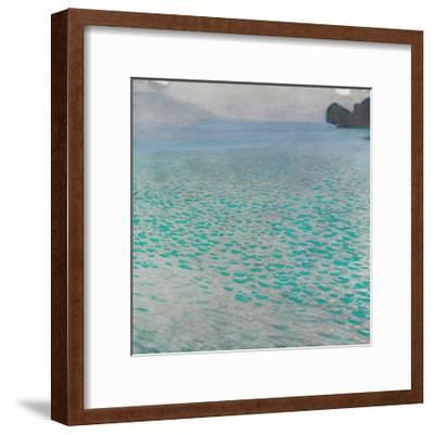 Attersee-Gustav Klimt-Framed Giclee Print