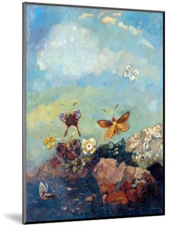 Butterflies-Odilon Redon-Mounted Giclee Print