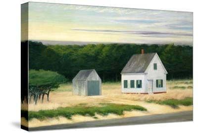 October on Cape Cod-Edward Hopper-Stretched Canvas Print