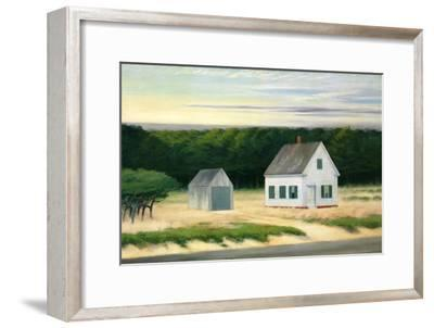 October on Cape Cod-Edward Hopper-Framed Premium Giclee Print