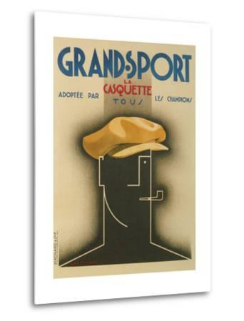 French Advertisement for Sporty Cap--Metal Print