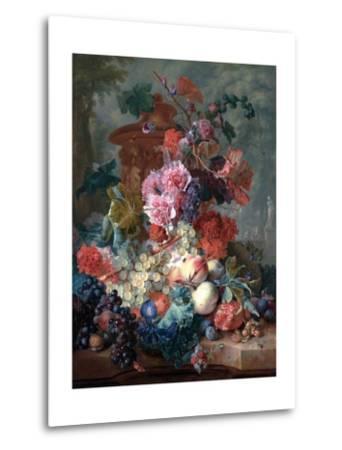 Fruit Piece-Jan van Huysum-Metal Print