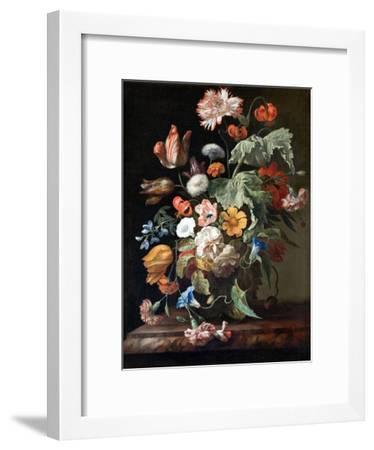 Still-Life with Flowers-Rachel Ruysch-Framed Giclee Print