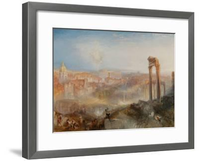 Modern Rome-Campo Vaccino-J^ M^ W^ Turner-Framed Giclee Print