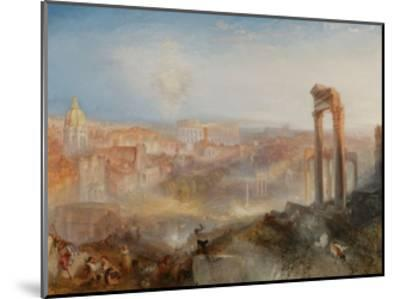 Modern Rome-Campo Vaccino-J^ M^ W^ Turner-Mounted Giclee Print