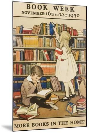 1930 Children's Book Council Book Week--Mounted Giclee Print
