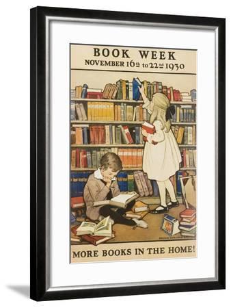 1930 Children's Book Council Book Week--Framed Giclee Print