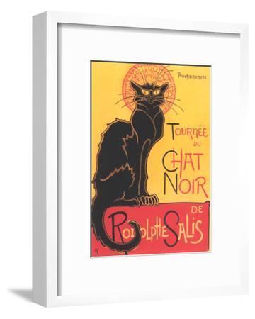 French Poster for Chat Noir Cabaret--Framed Giclee Print