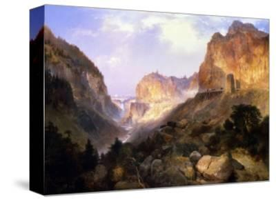 Golden Gate, Yellowstone National Park-Thomas Moran-Stretched Canvas Print
