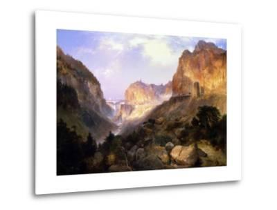 Golden Gate, Yellowstone National Park-Thomas Moran-Metal Print