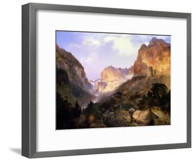 Golden Gate, Yellowstone National Park-Thomas Moran-Framed Giclee Print
