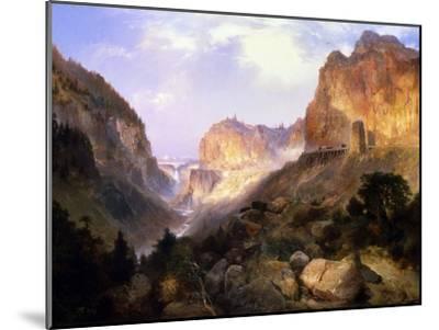 Golden Gate, Yellowstone National Park-Thomas Moran-Mounted Giclee Print