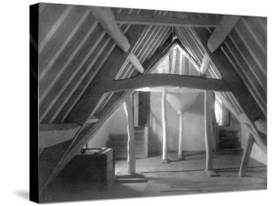 Attic of Kelmscott Manor-Frederick Henry Evans-Stretched Canvas Print