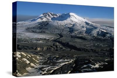 Ash Filled Valley Near Mount St. Helens-Paul Souders-Stretched Canvas Print