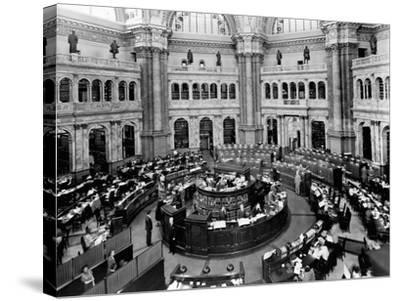 Library of Congress Reading Room--Stretched Canvas Print