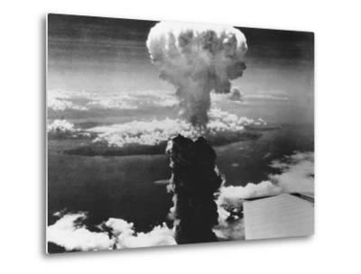 A-Bomb Damage to Nagasaki--Metal Print