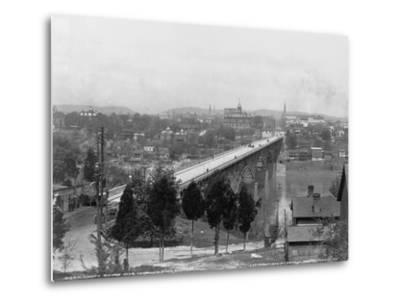 Bridge over Tennessee River in Knoxville--Metal Print