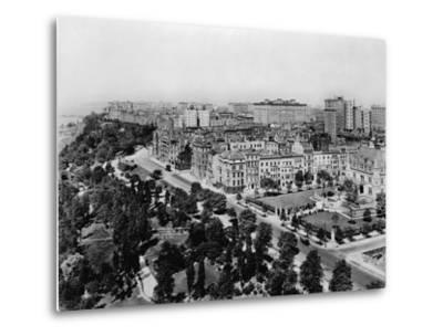 Overview of Riverside Drive and Riverside Park-Irving Underhill-Metal Print