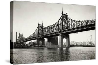General View of the Queensboro Bridge--Stretched Canvas Print