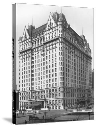 Plaza Hotel--Stretched Canvas Print