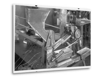 Coffee Bean Sorting Machine--Metal Print