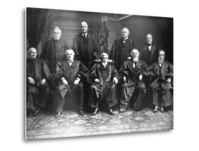 Portrait of the 1888 Supreme Court-C.M. Bell-Metal Print