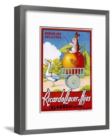 Ricardo Llacer E Hijos--Framed Giclee Print