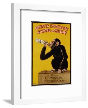 Anisetta Evangelisti Liquore Da Dessert Poster-Carlo Biscaretti Di Ruffia-Framed Premium Giclee Print