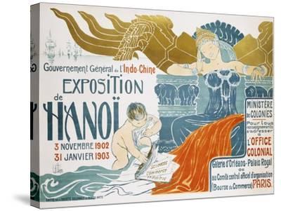 Exposition De Hanoi-Clementine-helene Dufau-Stretched Canvas Print