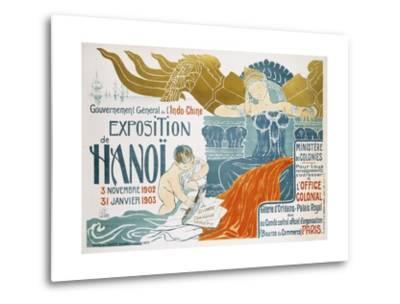 Exposition De Hanoi-Clementine-helene Dufau-Metal Print