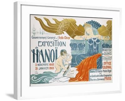 Exposition De Hanoi-Clementine-helene Dufau-Framed Giclee Print