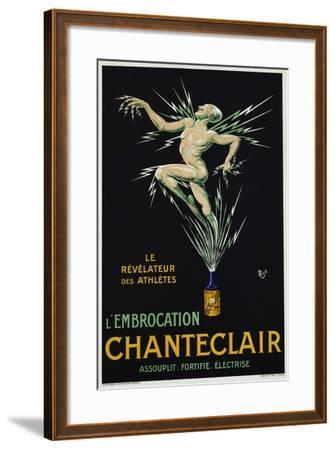 Chanteclair Poster--Framed Giclee Print