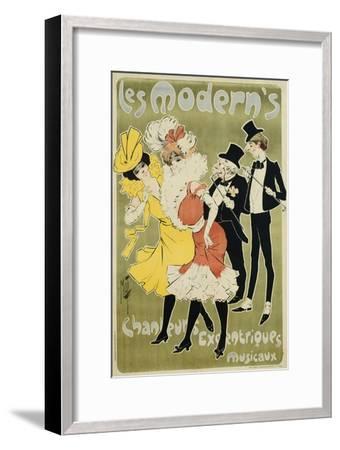 Les Modern's Poster--Framed Giclee Print