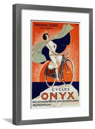 Onyx Cycles-Fritayre-Framed Giclee Print