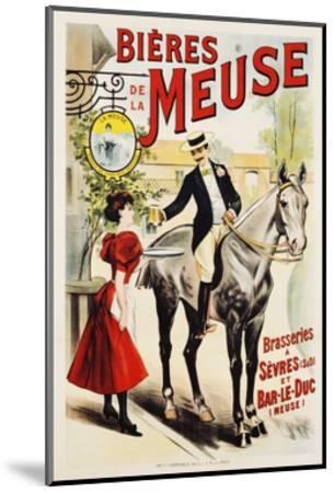 Bieres De La Meuse Poster--Mounted Giclee Print
