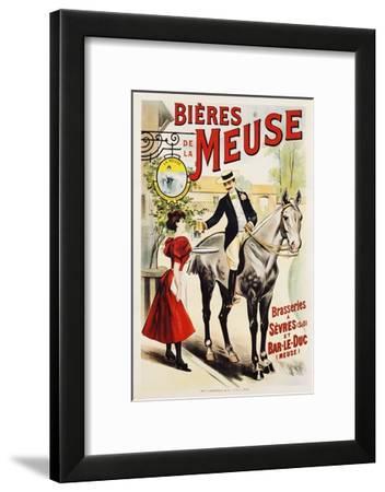 Bieres De La Meuse Poster--Framed Giclee Print
