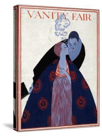 Vanity Fair Cover-Georges Lepape-Stretched Canvas Print