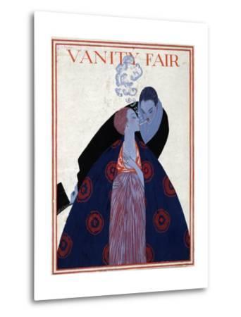 Vanity Fair Cover-Georges Lepape-Metal Print