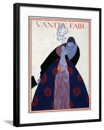Vanity Fair Cover-Georges Lepape-Framed Giclee Print
