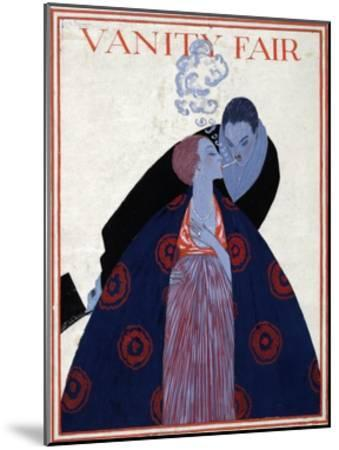 Vanity Fair Cover-Georges Lepape-Mounted Giclee Print