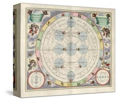 Plate 18 from Harmonia Macrocosmica-Andreas Cellarius-Stretched Canvas Print