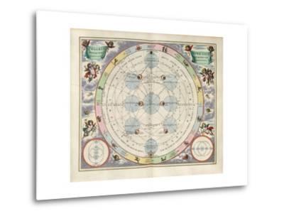 Plate 18 from Harmonia Macrocosmica-Andreas Cellarius-Metal Print