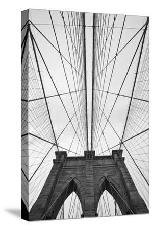 Brooklyn Bridge, New York City-Paul Souders-Stretched Canvas Print