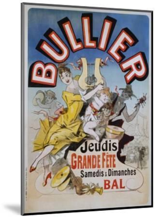 Bullier Poster-Jules Ch?ret-Mounted Giclee Print