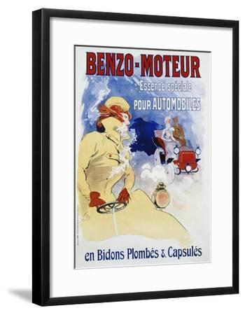 Benzo-Moteur Poster-Jules Ch?ret-Framed Giclee Print