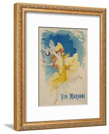 Vin Mariani Poster-Jules Ch?ret-Framed Giclee Print
