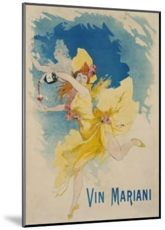 Vin Mariani Poster-Jules Ch?ret-Mounted Giclee Print