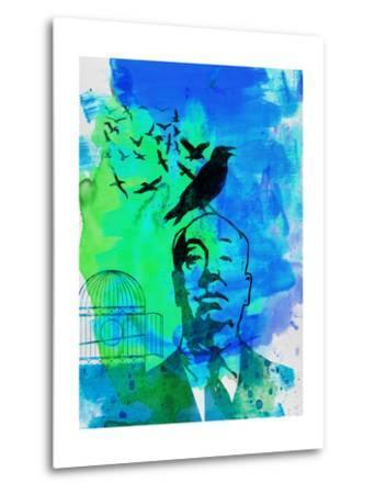 Birds Watercolor-Anna Malkin-Metal Print
