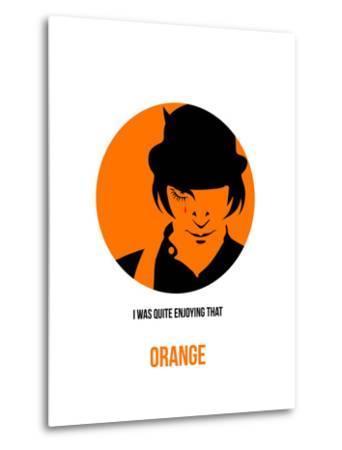 Orange Poster 1-Anna Malkin-Metal Print